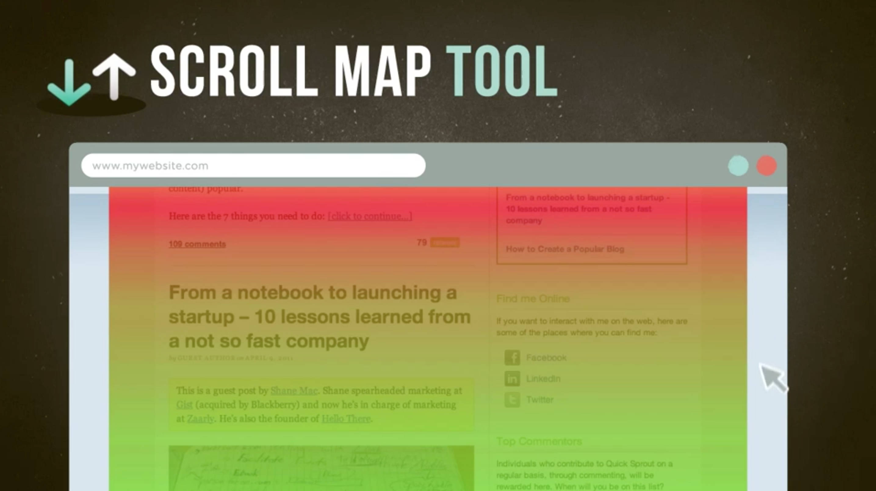 Scroll Mapping Tool in Twin Falls, Idaho.