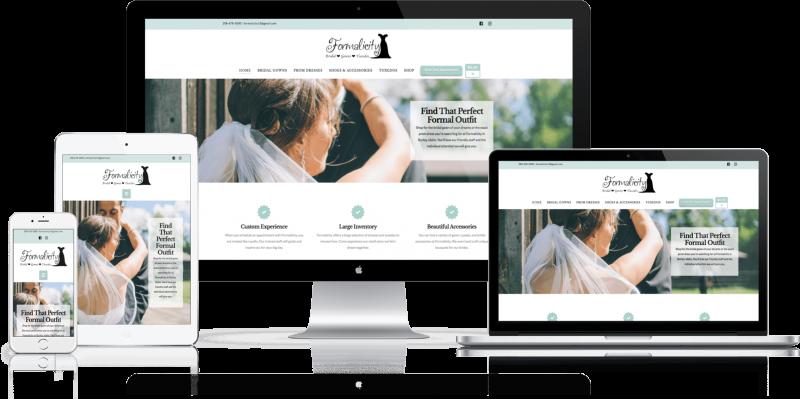 Formalicity Website Design