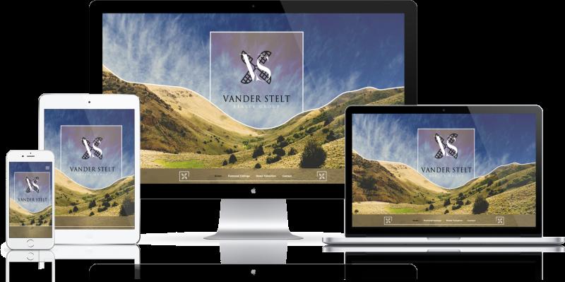 Vander Stelt Realty Group Website Design