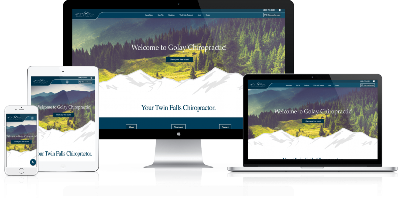 Golay Chiropractic Website Design
